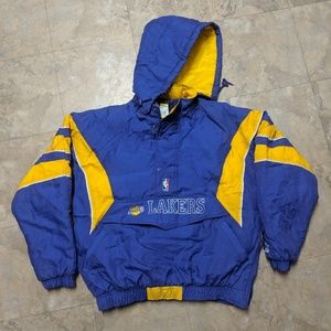 Starter NBA Los Angeles Lakers Puffy jacket sz XL